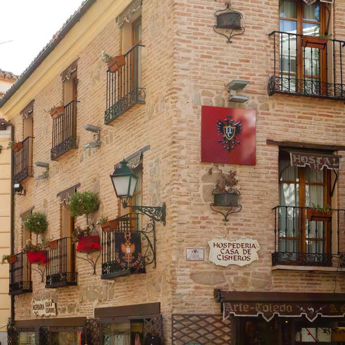 La Hospedería - Casa de Cisneros - Toledo